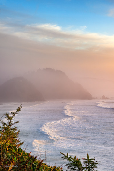 Cape Meares Oceanside (161602BSND8) Photograph for Sale as Fine Art Print