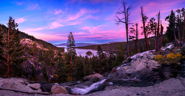 Emerald Bay Dreaming, Lake Tahoe print by Brad Scott