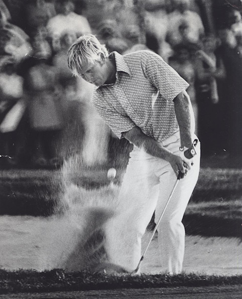 Jack Nicklaus at the PGA National Golf Course