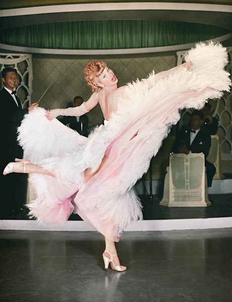 Lucille Ball Dancing, color