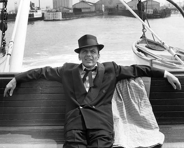 Frank Sinatra in Portland, 1957