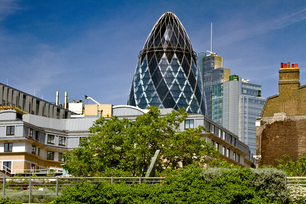 Fine Art Photograph St. Mary's Axe by Michael Pucciarelli