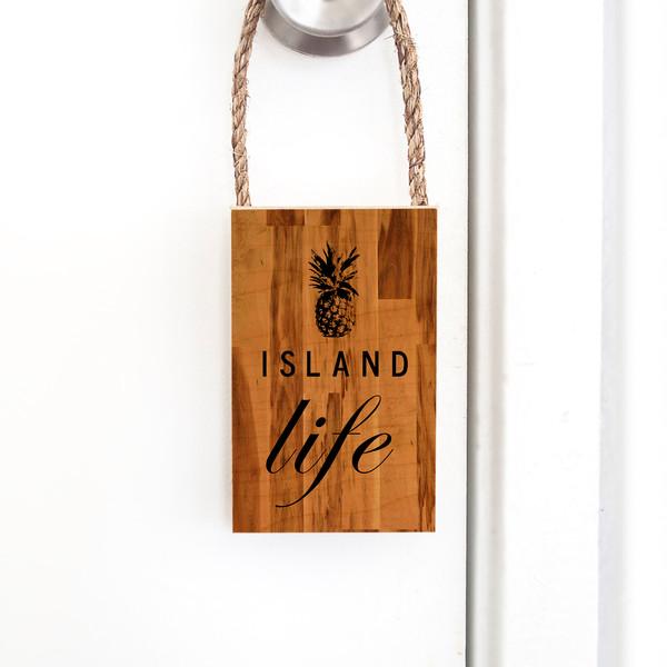 Door Hangers | Island Life