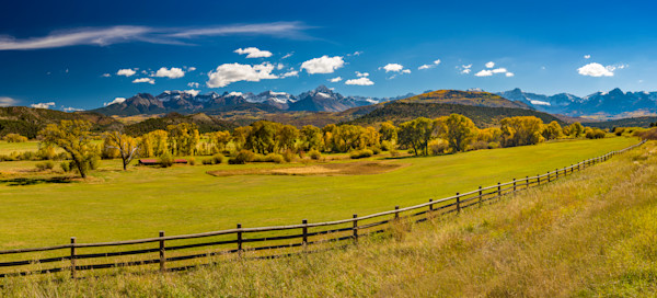 Panoramic Photograph of Colorado Mt Sneffels Wilderness