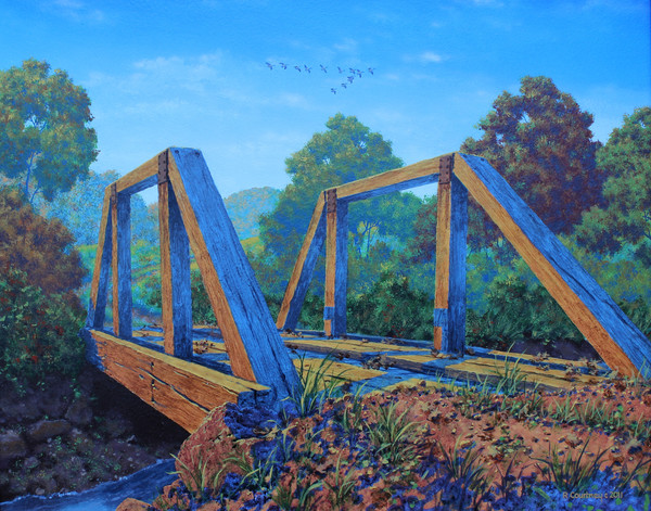 bridge over verdigris creek