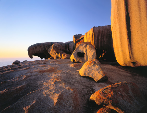 Remarkable Rocks in the morning light, Flinders Chase National Park, Kangaroo Island, South Australia