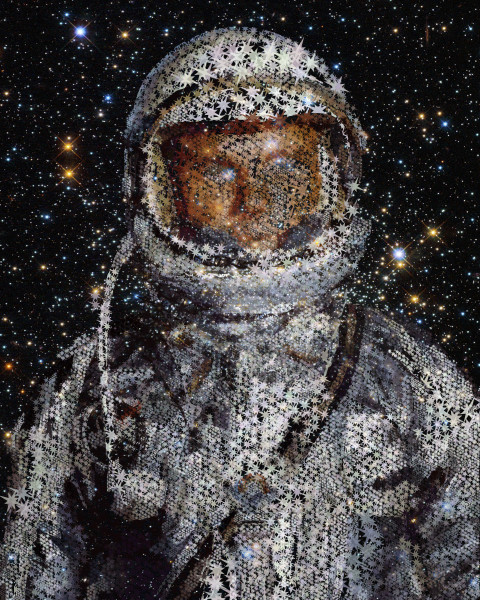 John H Glenn, American Astronaut, Photographic Print at VectorArtLabs.com