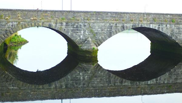Arched Bridge--Ireland