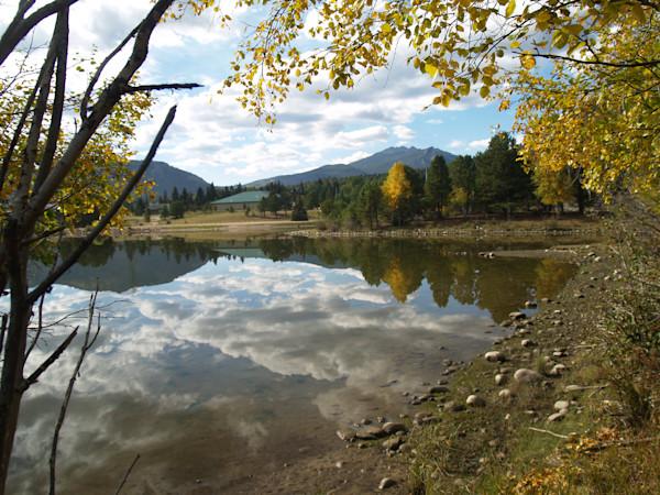 Reflections on Lake Estes--Colorado