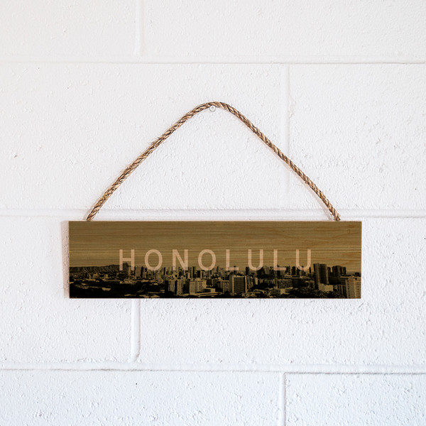 Rope Sign | Honolulu