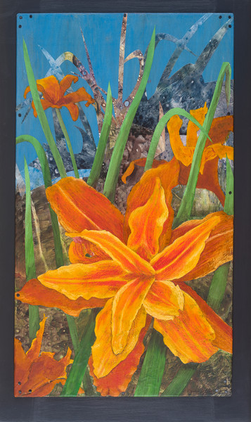 Orange Day Lily #2 - Original