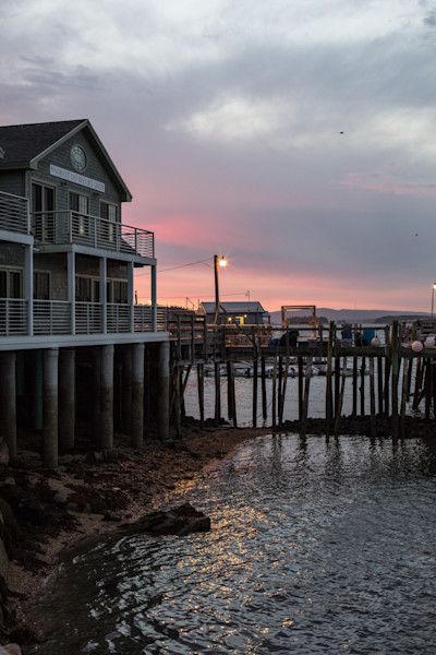 Fine Art Photograph - Sunset Colors of Maine