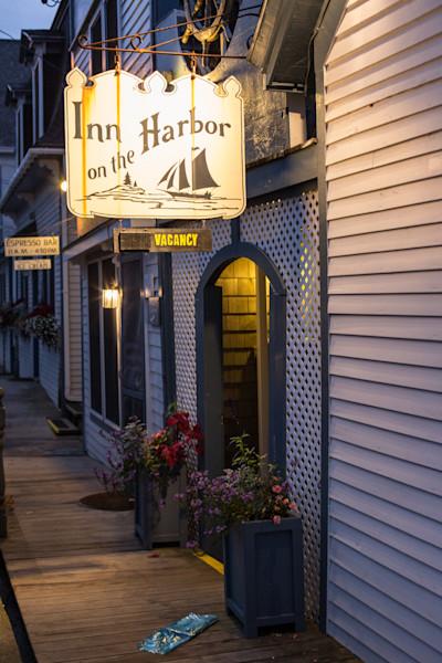 Fine Art Photograph - Inn On The Maine Harbor