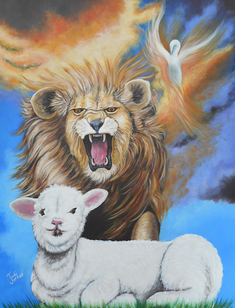 """Lion Hearted Lamb"" by Judi Jordan 