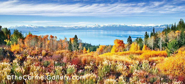 Autumn Morning Tahoe