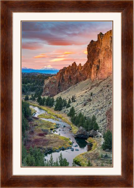 Magical Smith Sunrise (161611LNND8) Smith Rock State Park Oregon Steve J. Giardini