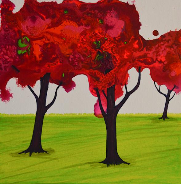Lillian's Trees VII by Briar Emond | SavvyArt Market original painting