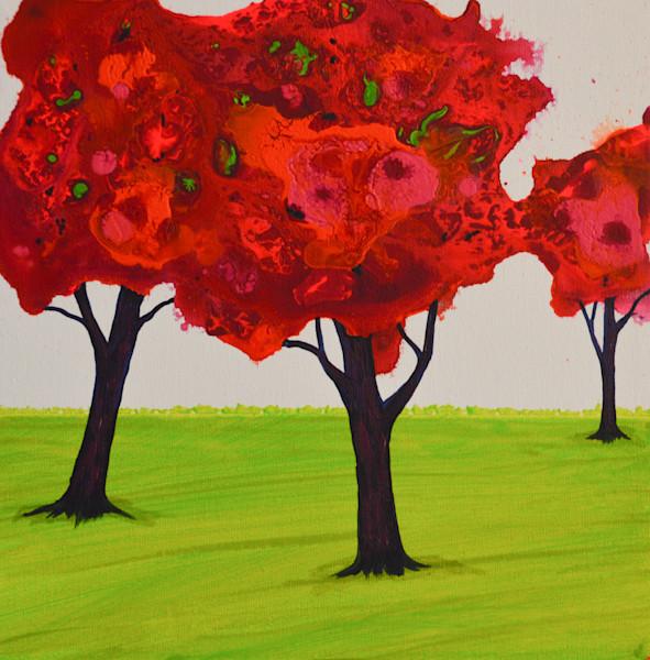 Lillian's Trees VI by Briar Emond | SavvyArt Market original painting