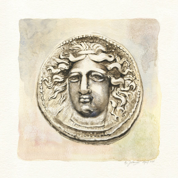 Ancient Coin II by Ernie Francis | SavvyArt Market art print
