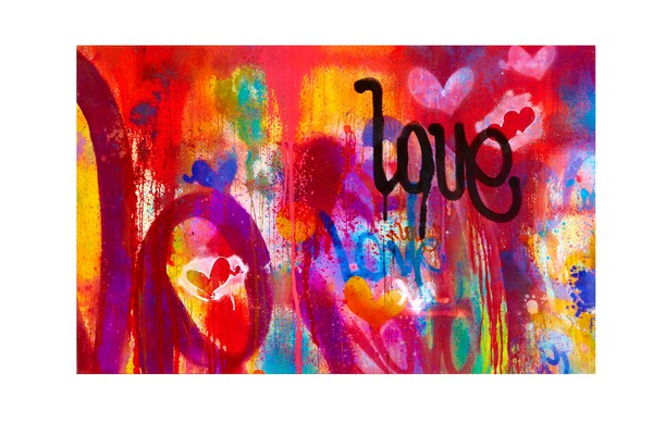 One Love | Graffiti Inspired Art by Karlos Marquez
