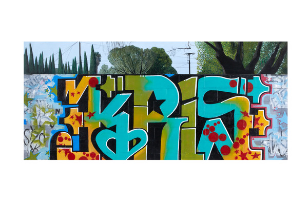 Kris | Graffiti Inspired Collaboration with Karlos Marquez