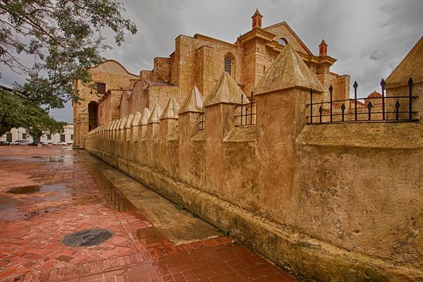 Fine Art Photograph of Military Fort in Santo Domingo by Michael Pucciarelli