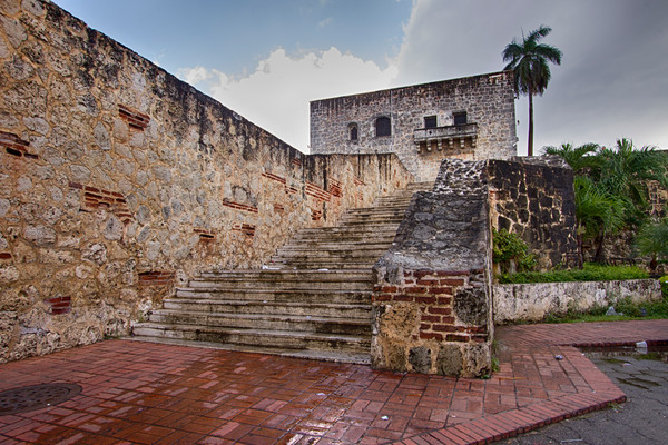 A Fine Art Photograph of a Military Fort Santo Domingo by Michael Pucciarelli