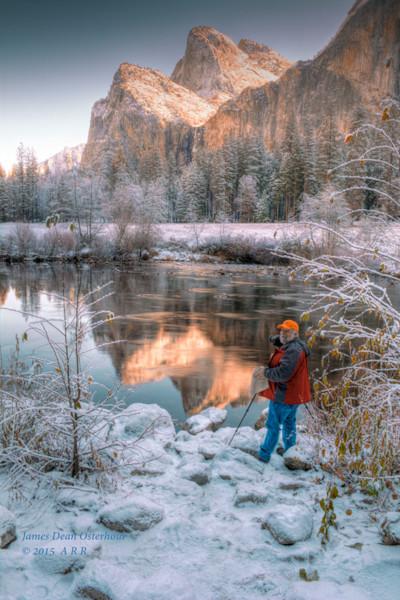 Yosemite , El Capitan, half dome