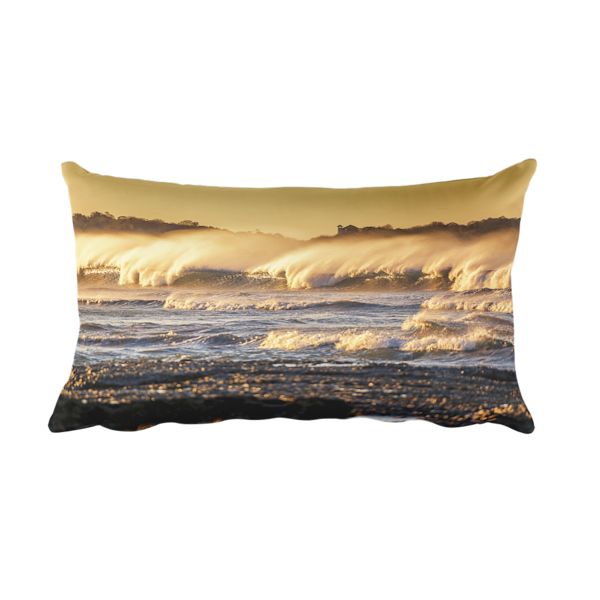 Nosara Sunrise Pillow | Saltwater INK
