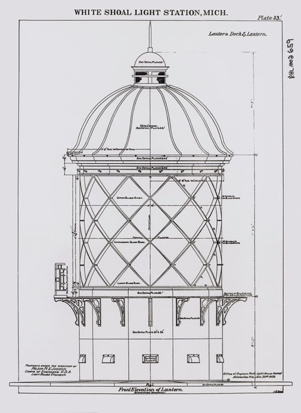 White Shoal Lantern Room Drawing 2004-04-17 12-48-42 IMG 0034