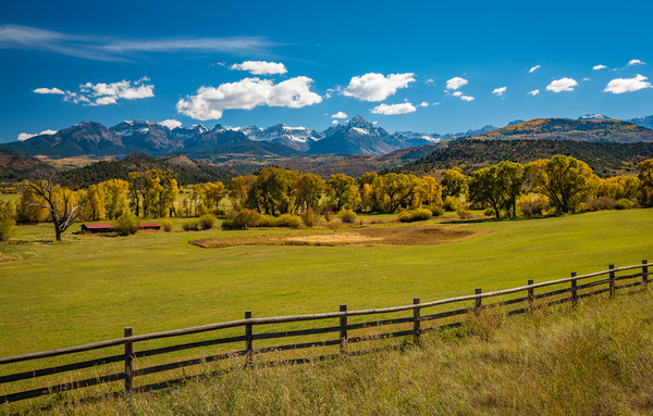 Photography Prints of Mount Sneffels & Mountain Range Southwest Colorado