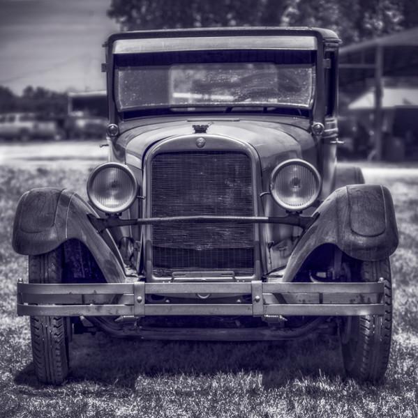 Classic 1900s Ford Model T Monochrome|Wall Decor fleblanc