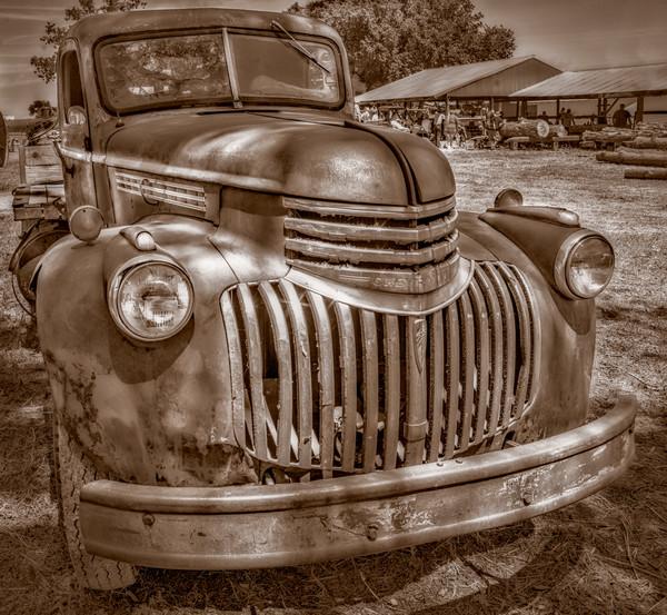 Chevy Chevrolet 1940's Farm Ranch Truck|Wall Decor fleblanc