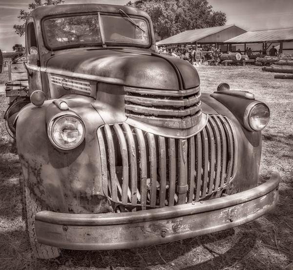 Chevy Chevrolet 1940's Farm Vintage Truck|Wall Decor fleblanc