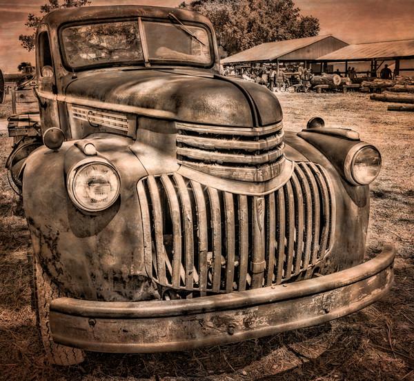 Chevrolet 1940's Farm Antique Truck Grille|Wall Decor fleblanc