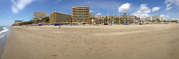 Beach at Costa del Sol