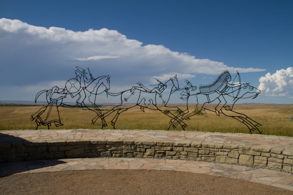 Indian Monument at Battle of Little Big Horn