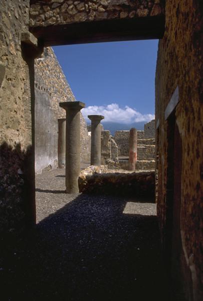 Courtyard in Pompeii
