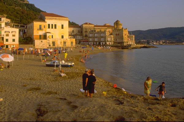 A Family Beach in Italy