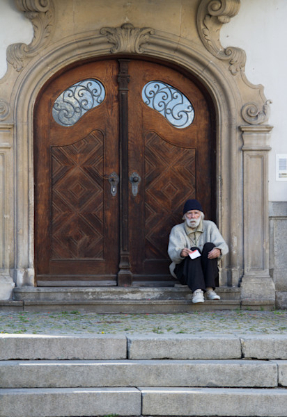 Beggar at St. Stephen's Cathedral