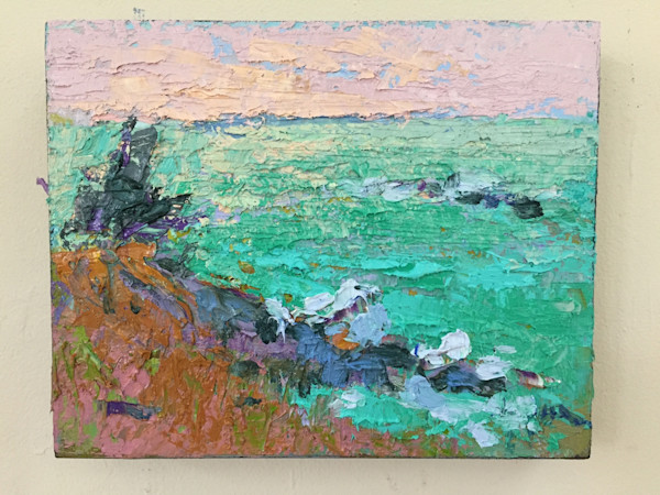 Brilliant August Original Oil Painting by Dorothy Fagan