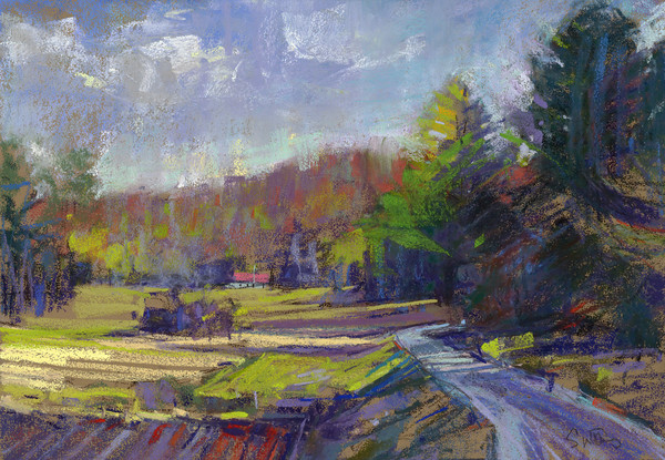 Edge Of The Wood - Bill Suttles Fine Art - Originals and Pastels