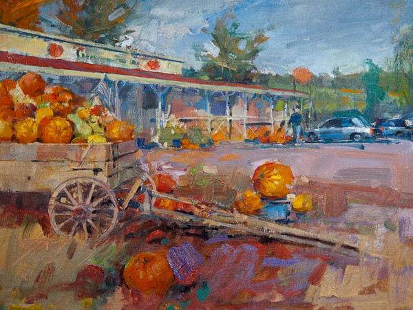 Sunrise Store, Fall | Bill Suttles Fine Art