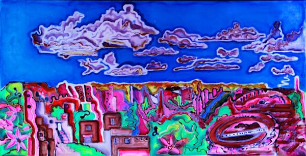 Chaco Canyon Print Sacred Vision