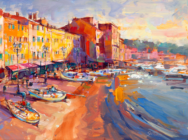 Antibes | Bill Suttles Fine Art