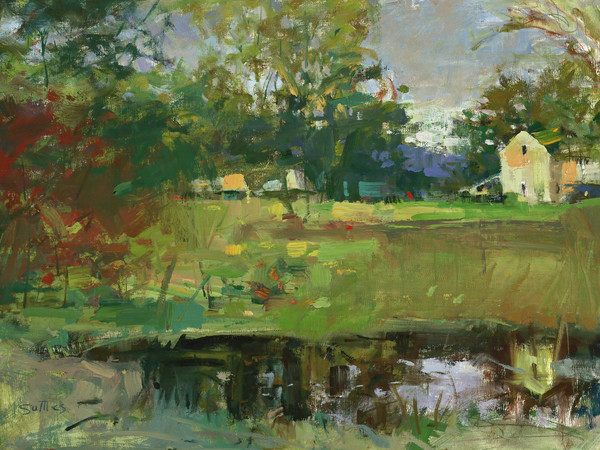 Town Creek Pond | Bill Suttles Fine Art