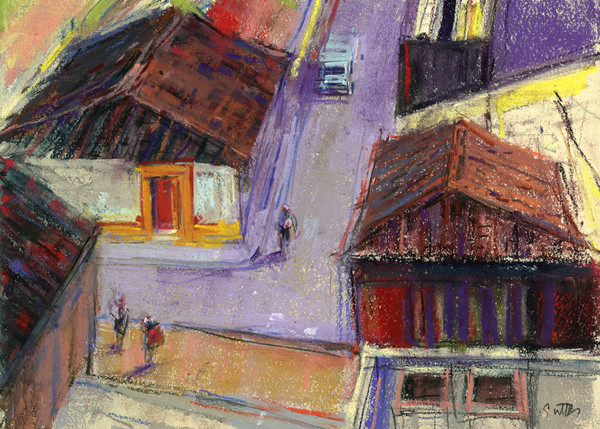 Top Of The Stairs | Bill Suttles Fine Art