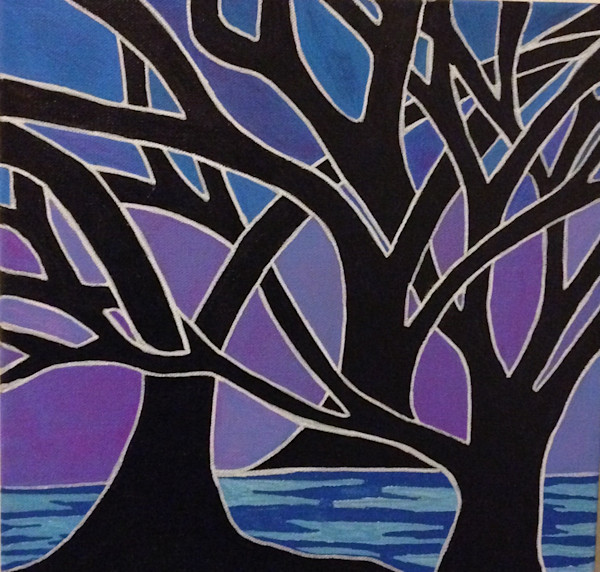 21st century abstract art|original paintings and prints|trees|Austin, Texas|artist, Christina Culverhouse|Intuitive Creations
