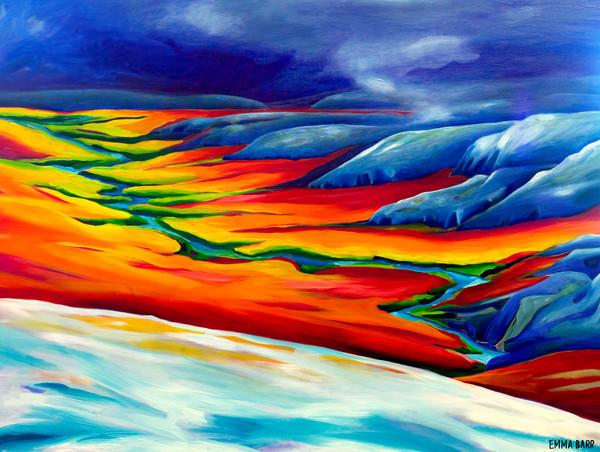 Dempster Highway Yukon | Emma Barr Fine Art
