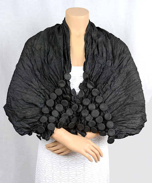 At An Angle Scarf in Dark Grey